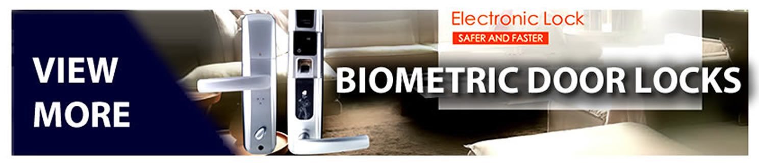 Biometric Door Locks banner