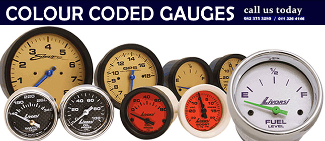 colour coded gauges