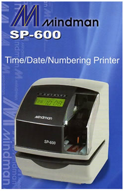 mindman sp600 time attendance