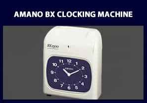 Amano BX Clocking Machine