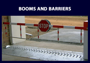Booms and Barriers