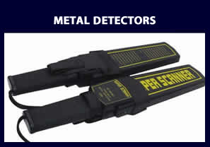 Handheld Metal Detectors - access control and security