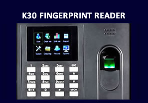 K30 fingerprint reader