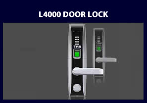 L4000 fingerprint reader Door Lock - Biometric Door Locks