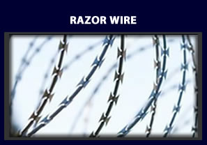 Razor Wire - access control and security