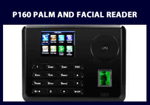 P160 PALM AND FACIAL MULTI BIOMETRIC READERS